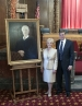 Former Justice Lanzinger's portrait dedicated at Supreme Court